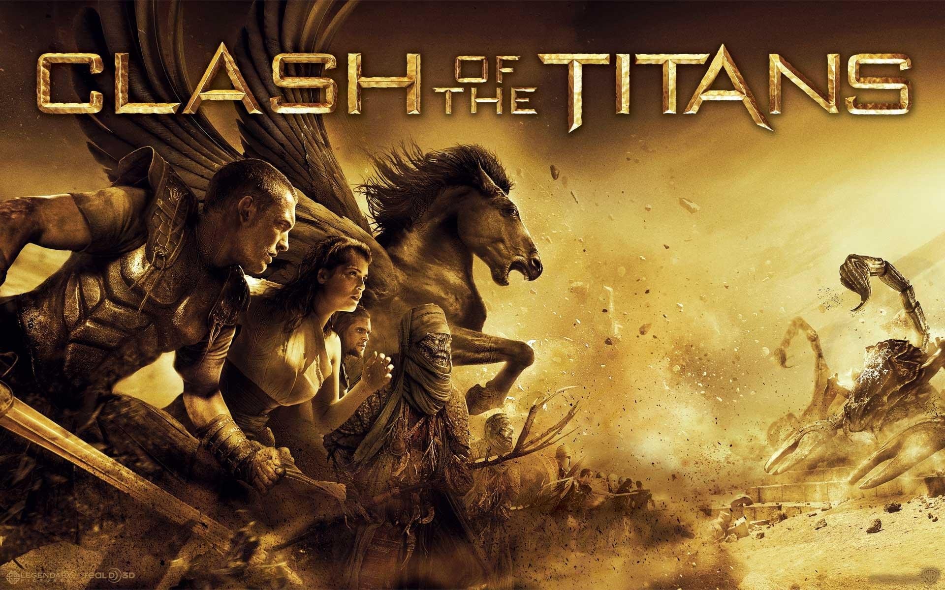 Обои Clash of the Titans. Heroes 1920x1200