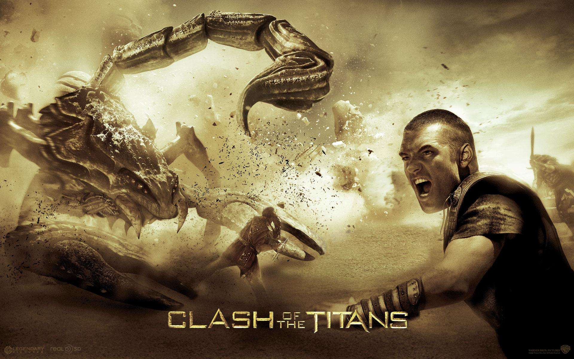 Обои Clash of the Titans. Perseus 1920x1200