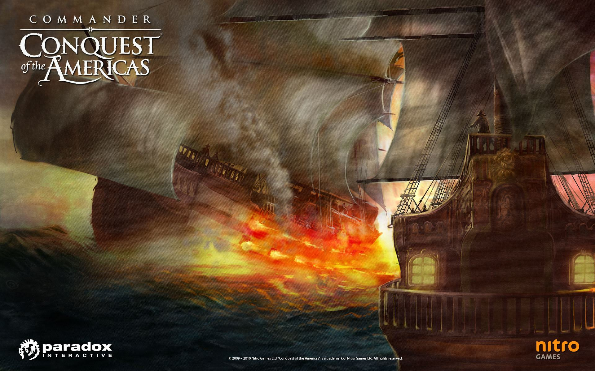Обои Commander: Conquest of the Americas 1920x1200