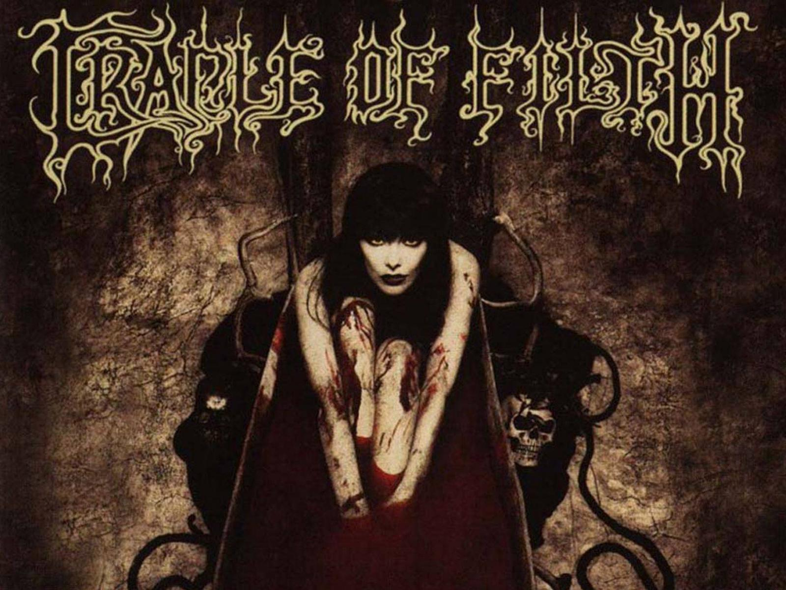 Обои Cradle of filth 1600x1200