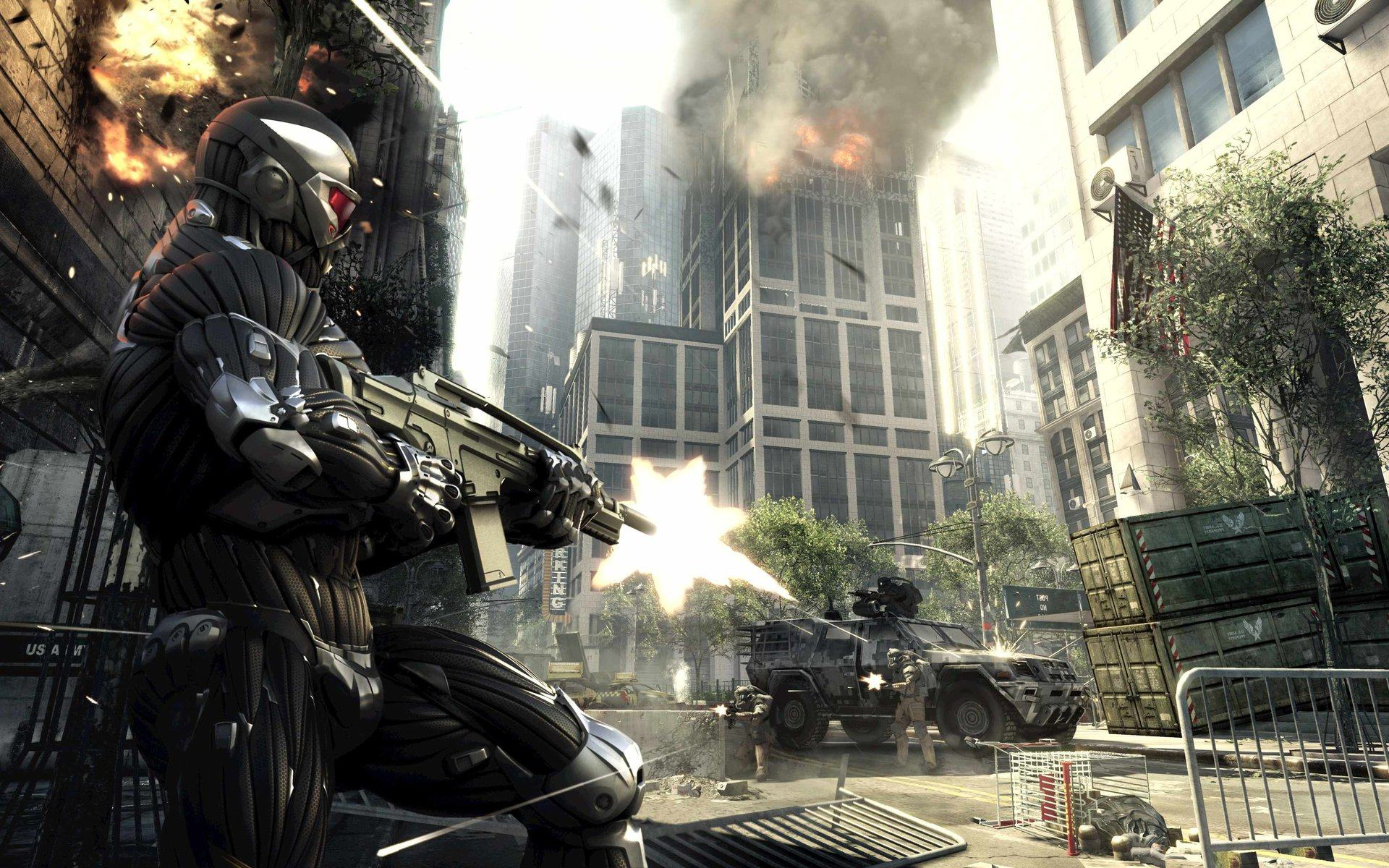 Обои Crysis 2 New York City 1920x1200