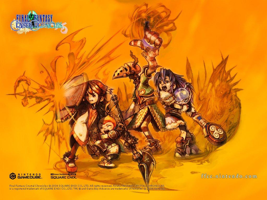 Обои Crystal Chronicles 1024x768