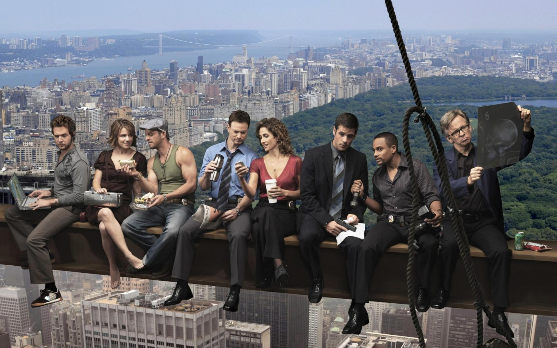 Обои CSI New York 1920x1200