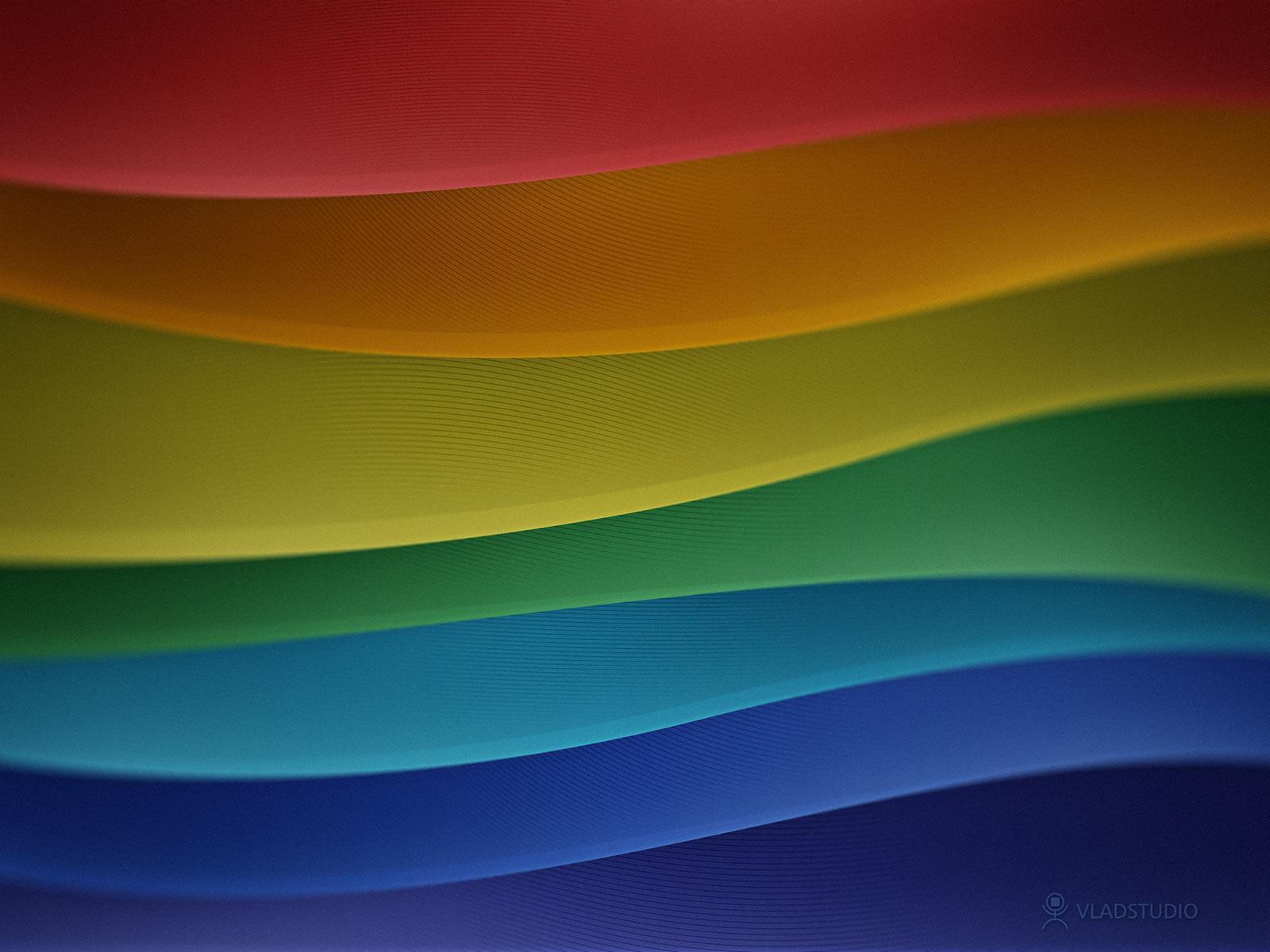 Обои цвета радуги 1600x1200