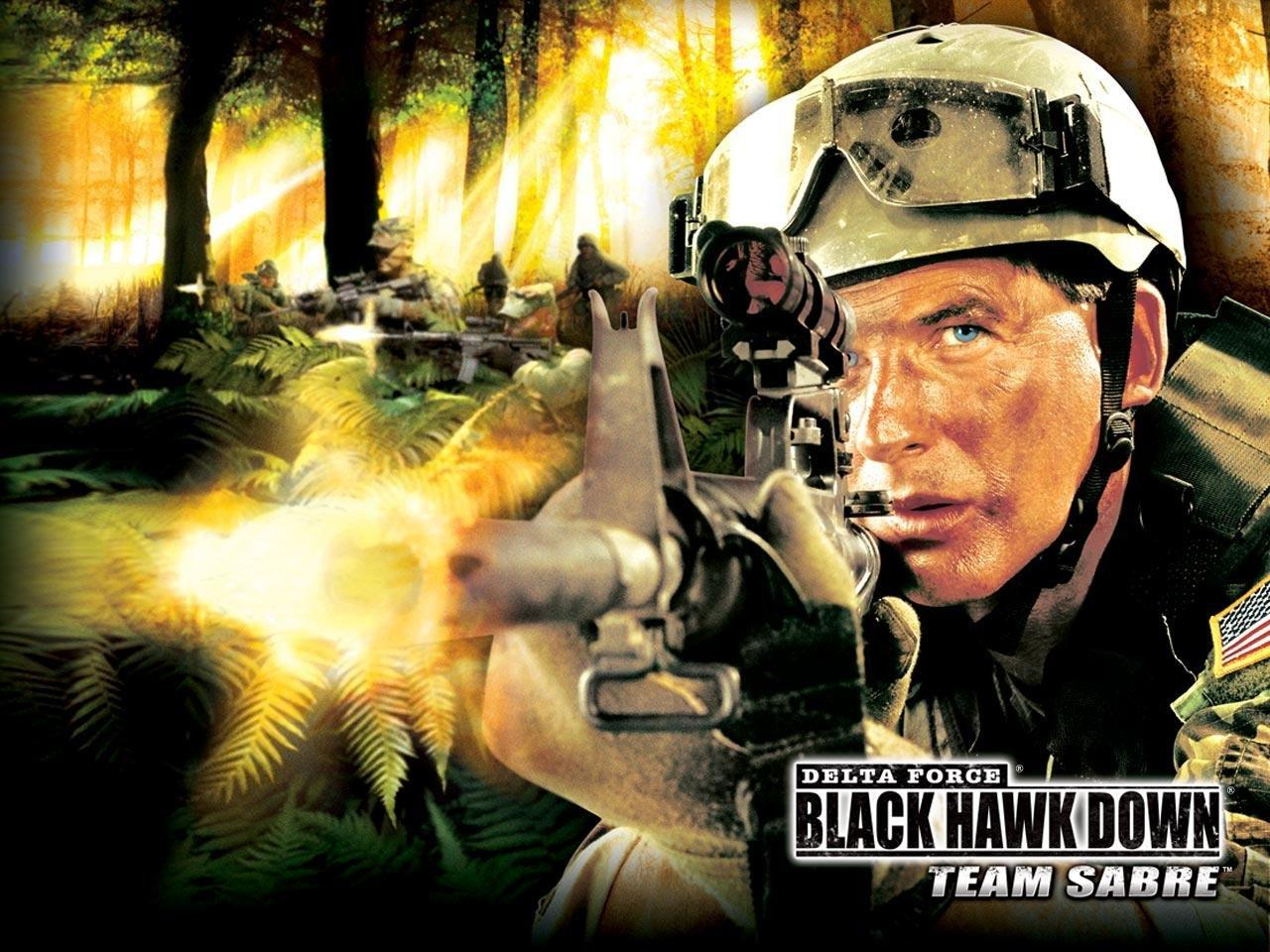 Обои Delta Force Black Hawk Down 1280x960