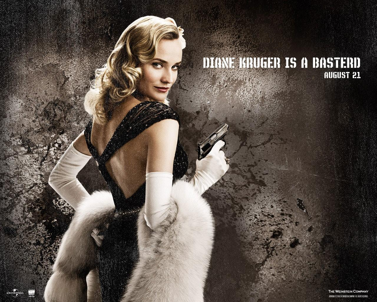 Обои Diane Kruger is a basterd 1280x1024
