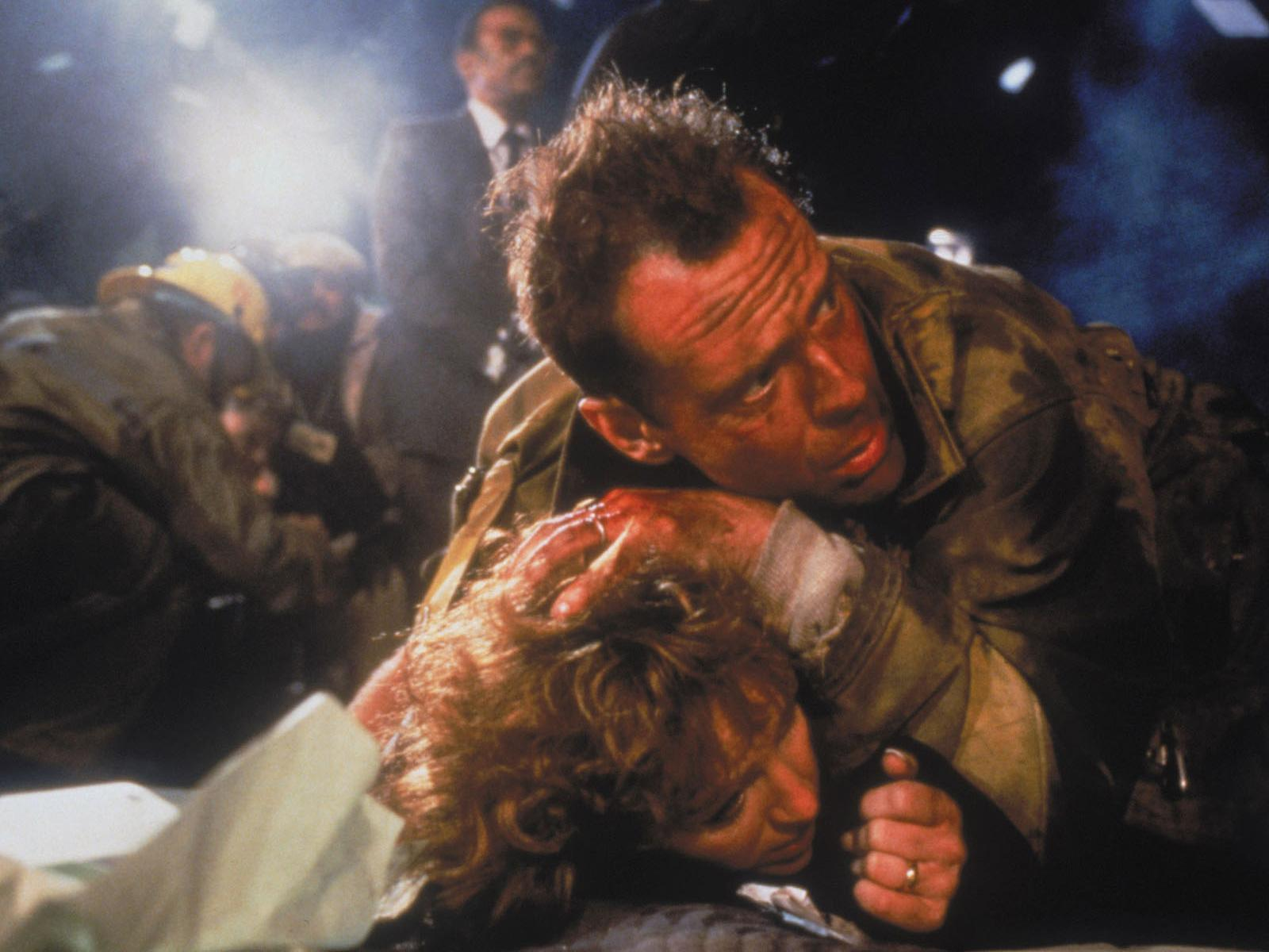 Обои Die Hard, Bruce Willis 1600x1200