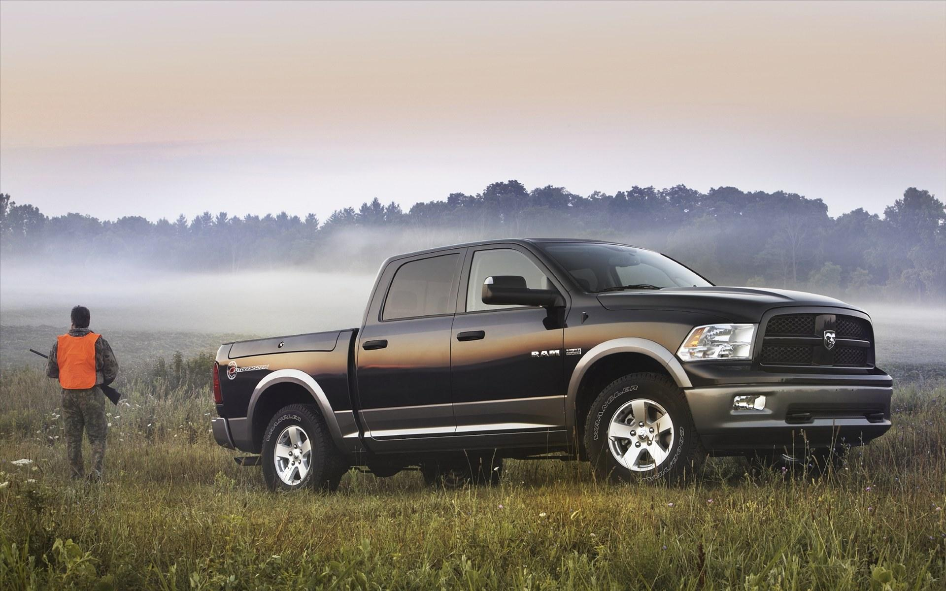 Обои Dodge Ram Outdoorsman 2011 1920x1200