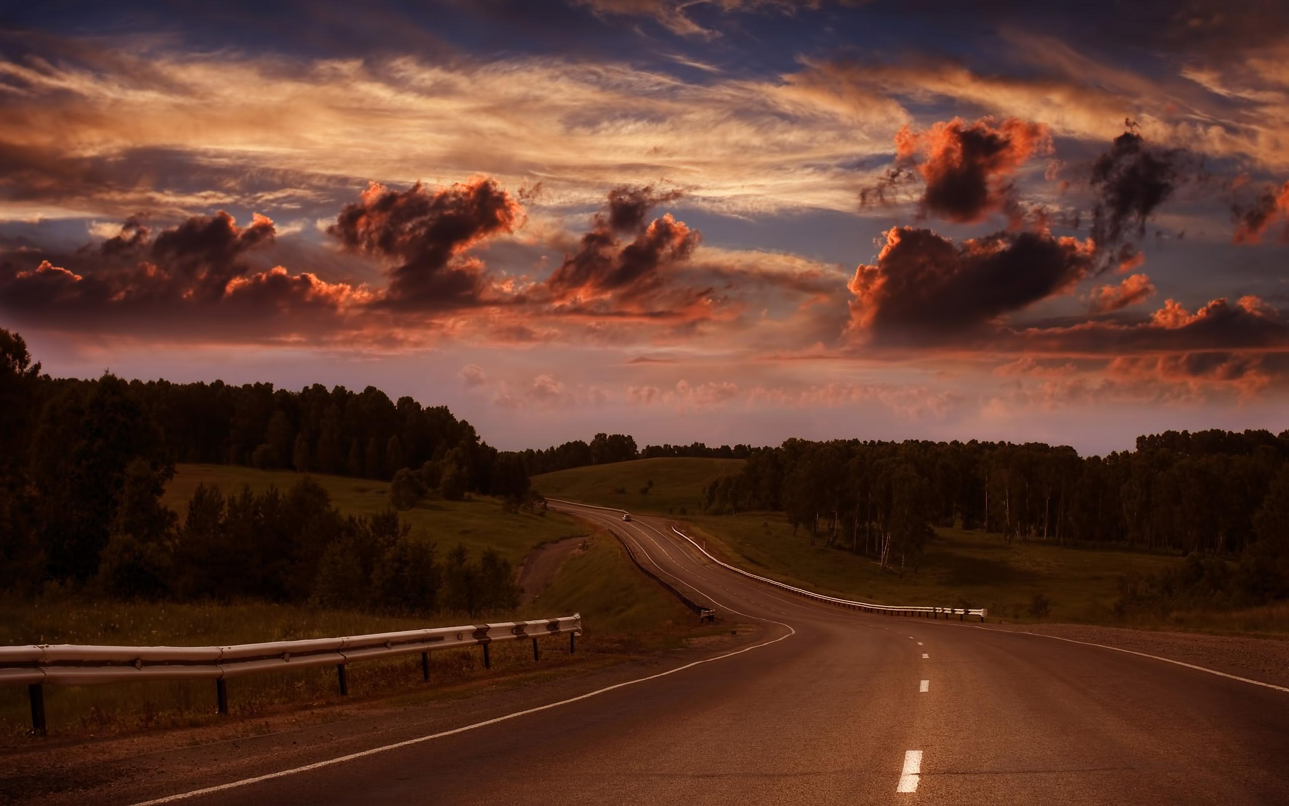 картинки дороги в даль