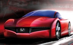 Drawing Honda / 1280x1024