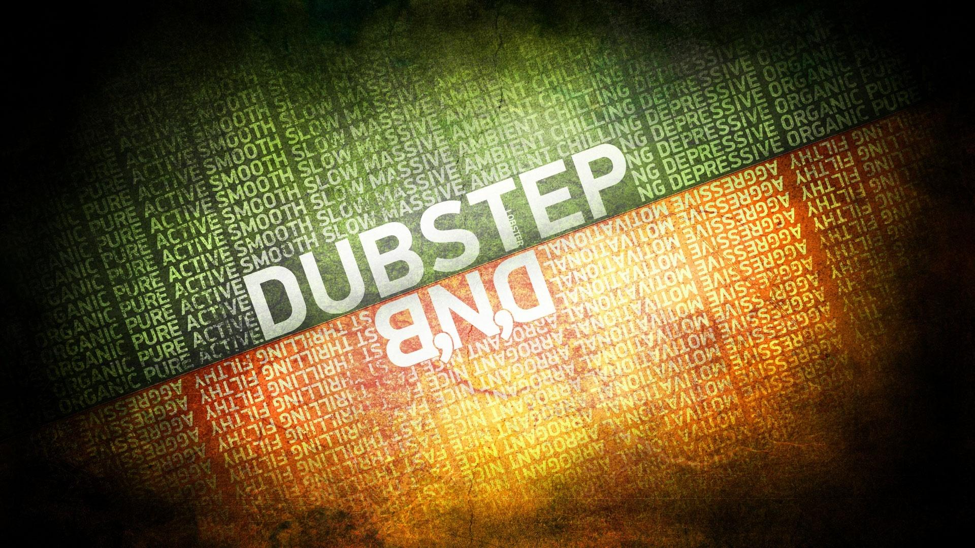 Обои Dubstep drum and bass 1920x1080