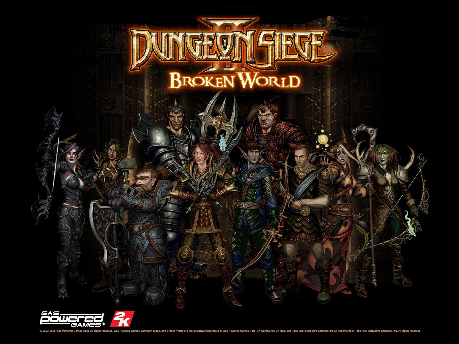 Обои Dungeon Siege 2 1600x1200