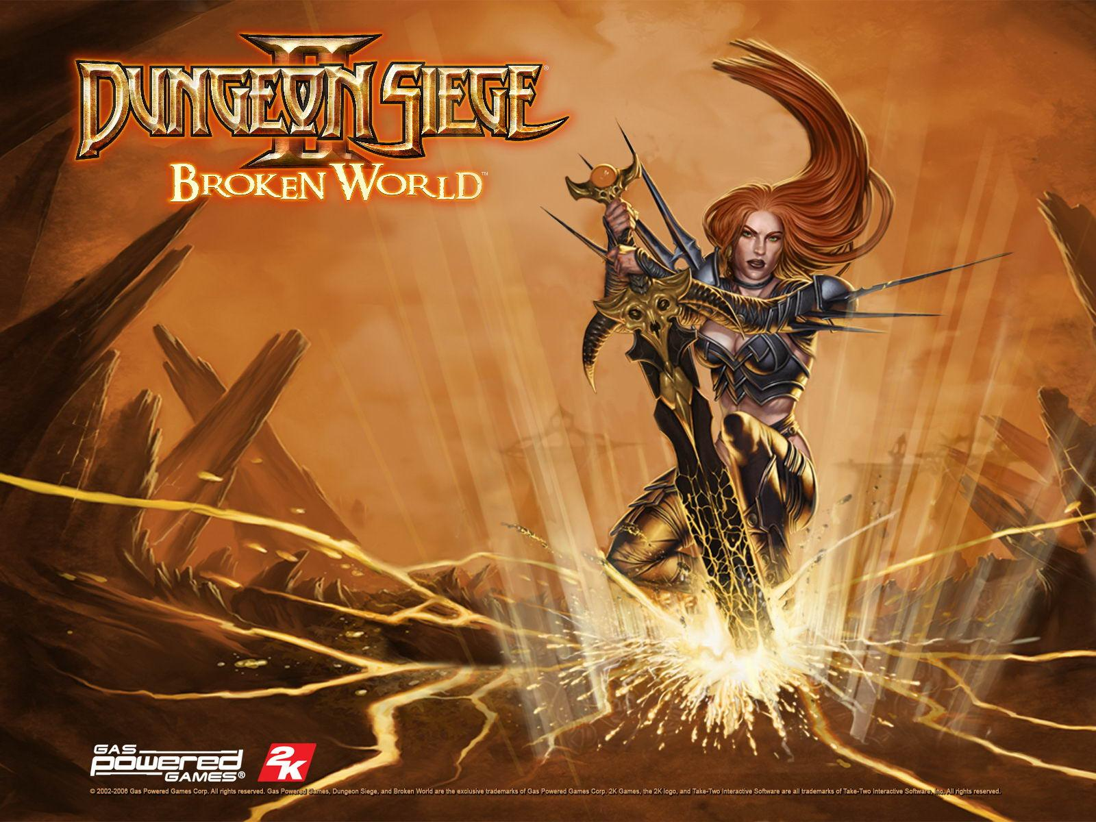 Обои Dungeon Siege 2: Broken World 1600x1200