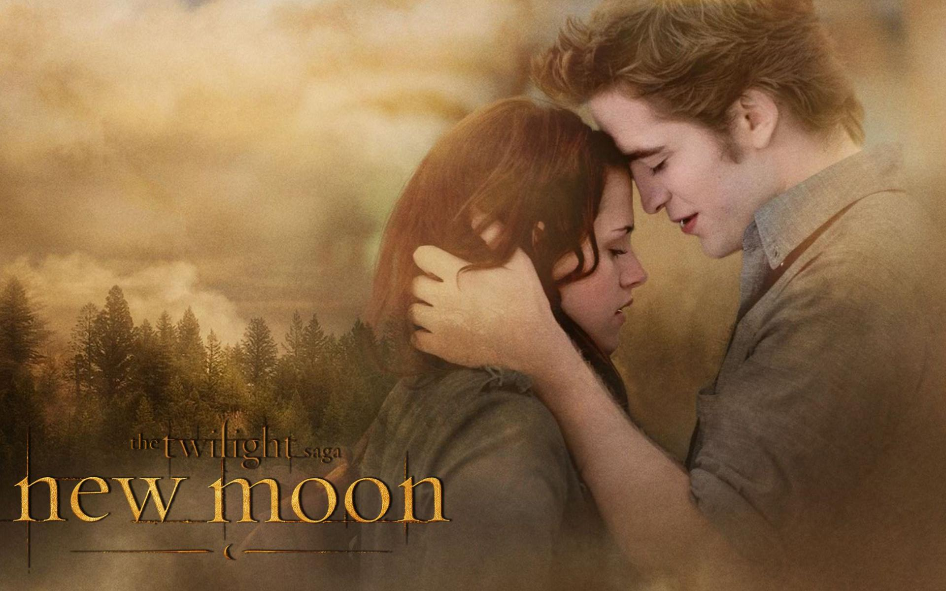 Обои Edward and Bella 1920x1200