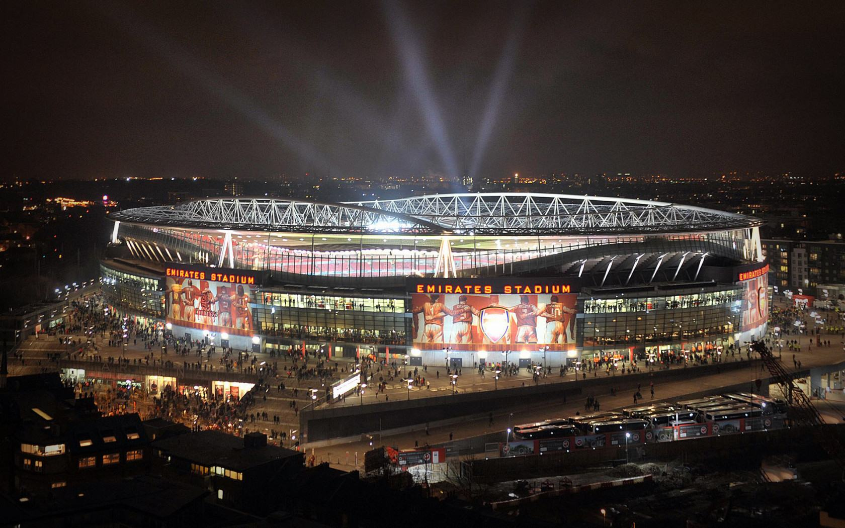 Обои Emirates Stadium London 1680x1050
