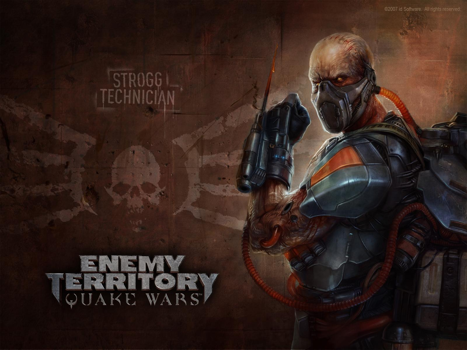 Обои Enemy Territory:Quake Wars- Техник 1600x1200