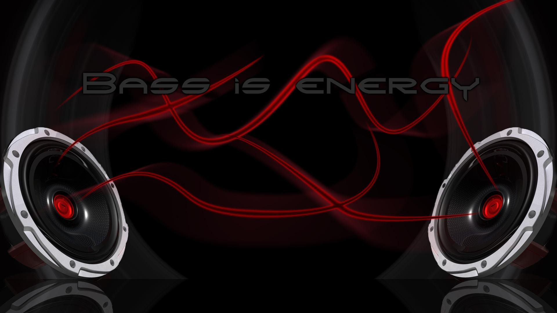 Обои Energy (Bass is energy) 1920x1080