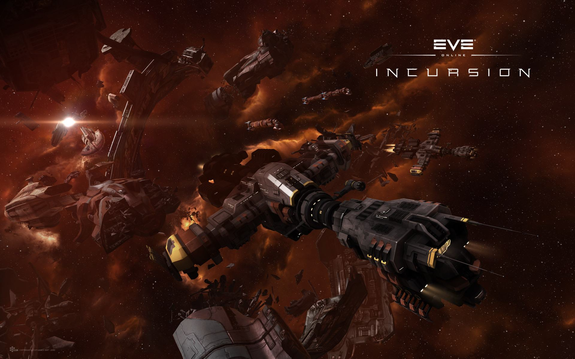 Обои EVE Online: Incursion 1920x1200