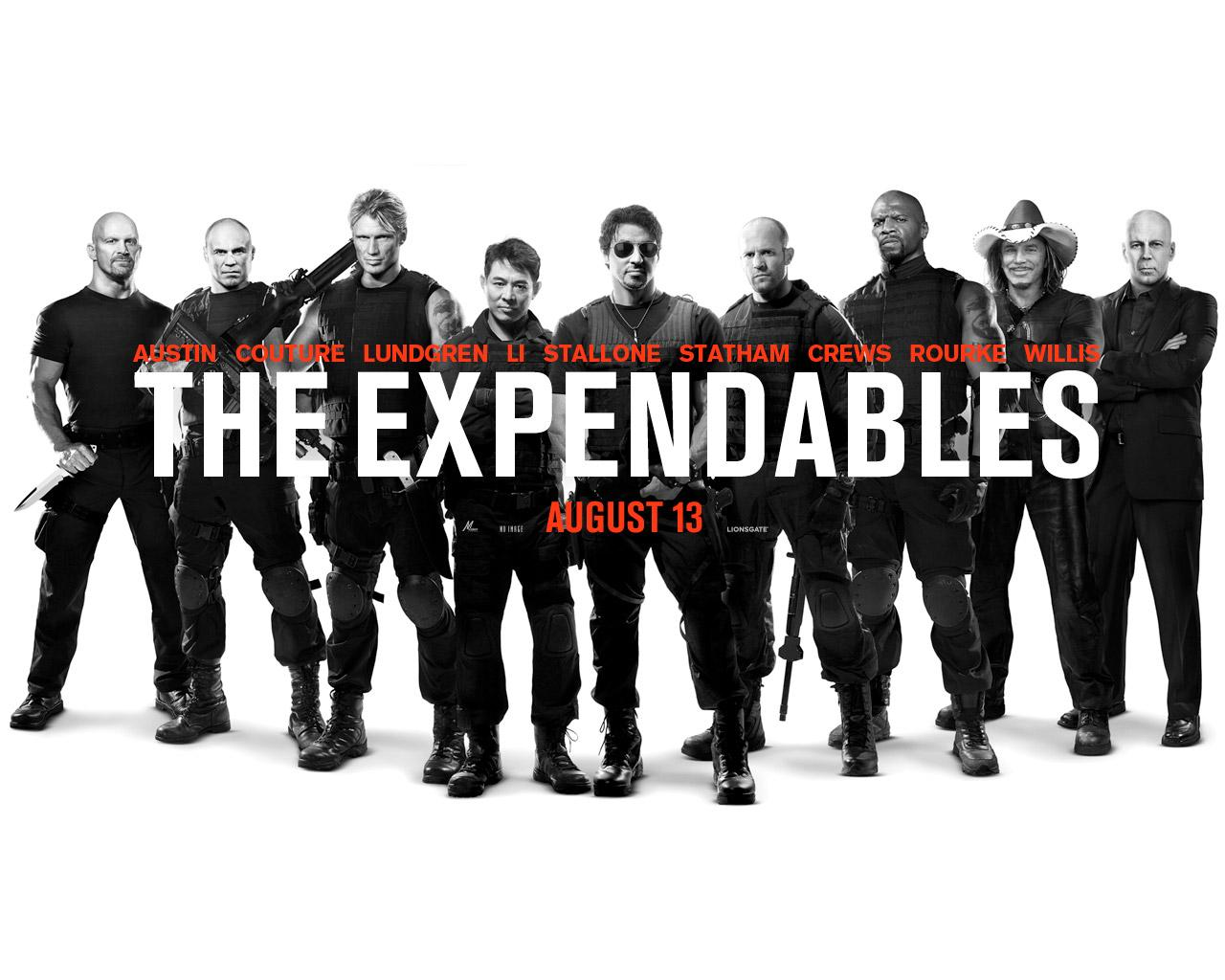 ���� Expendables 1280x1024