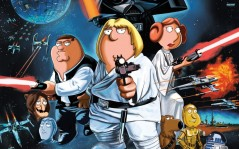 Family Guy : Star Wars / 2560x1600