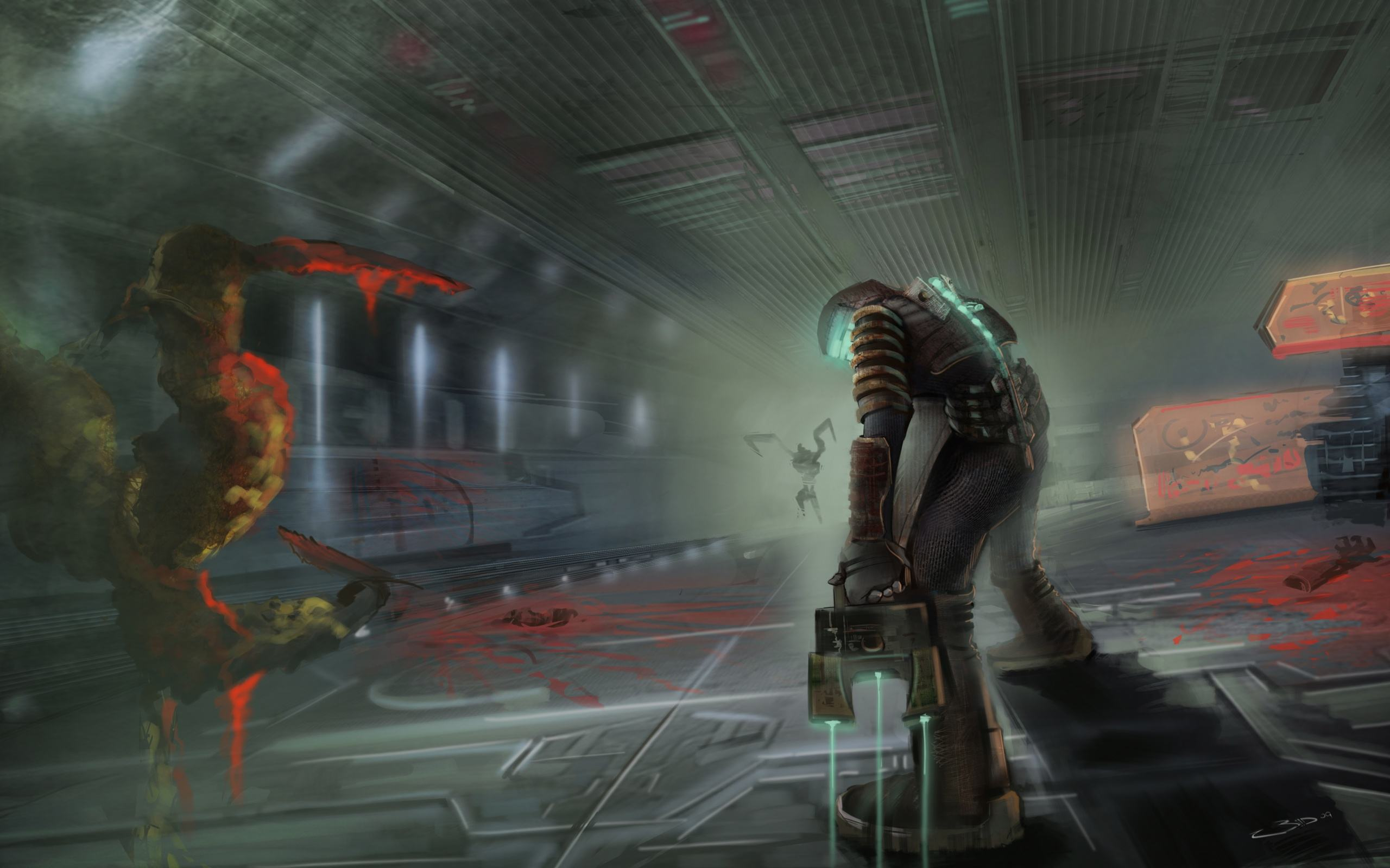 ���� ��� ��� Dead Space 2560x1600