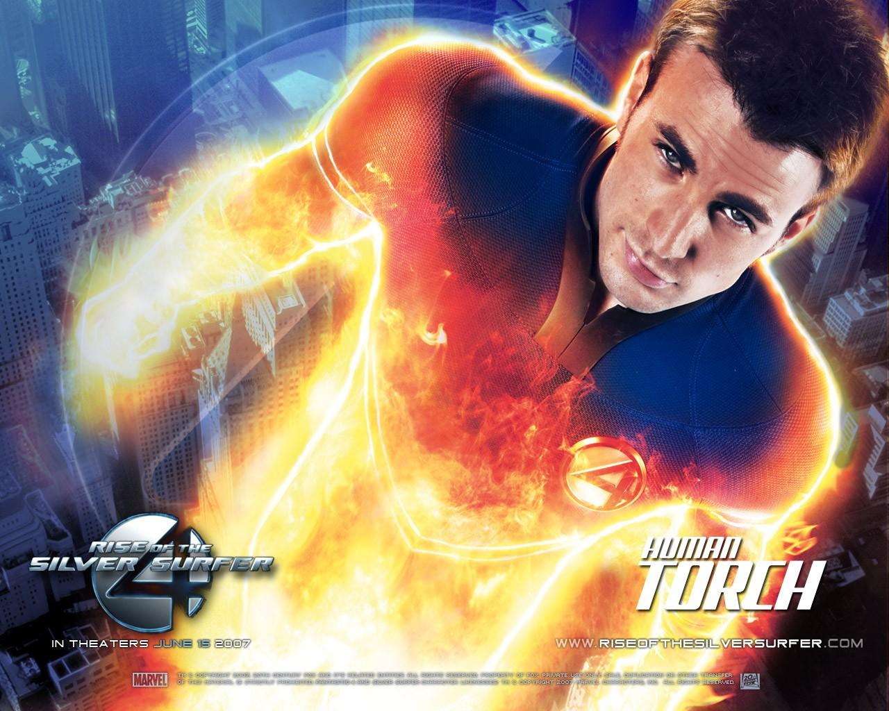 Обои Fantastic 4: Rise of the Silver Surfer 1280x1024