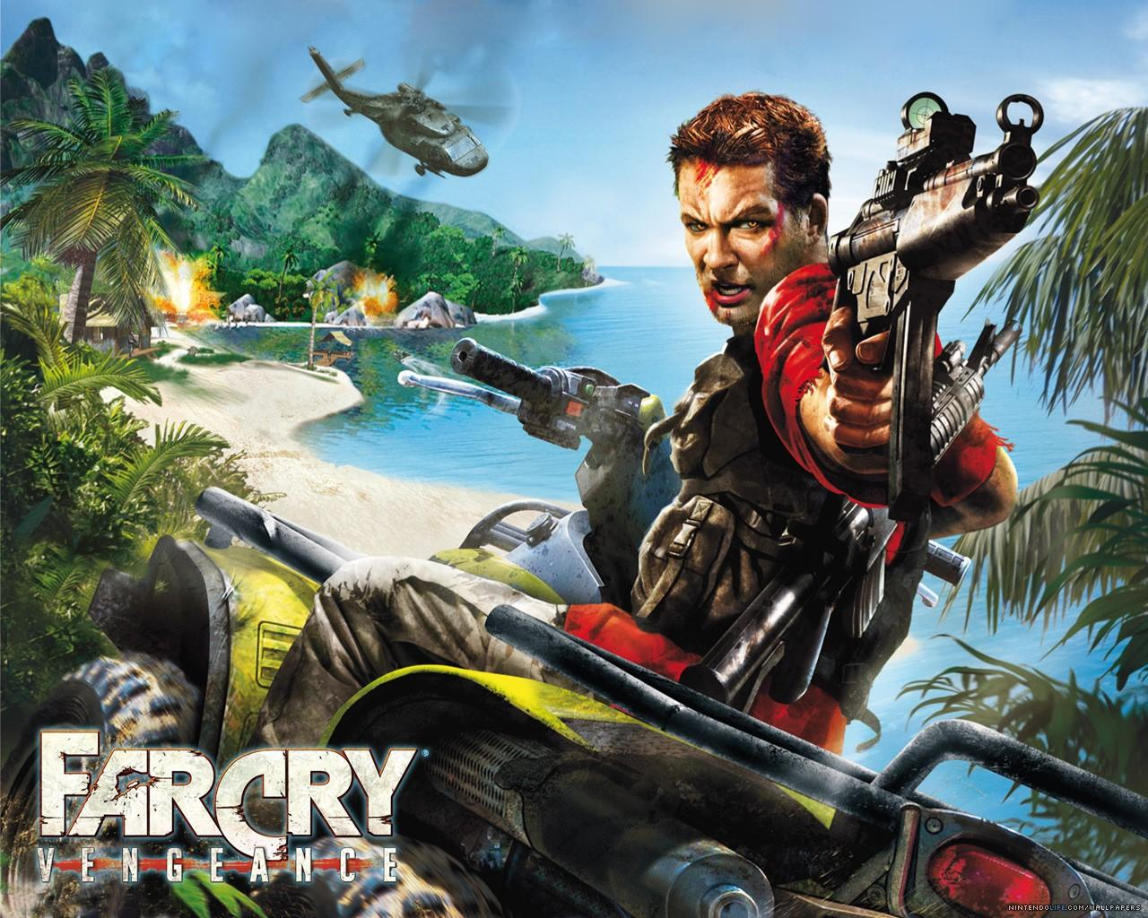 Обои Far Cry: Vengeance 1280x1024