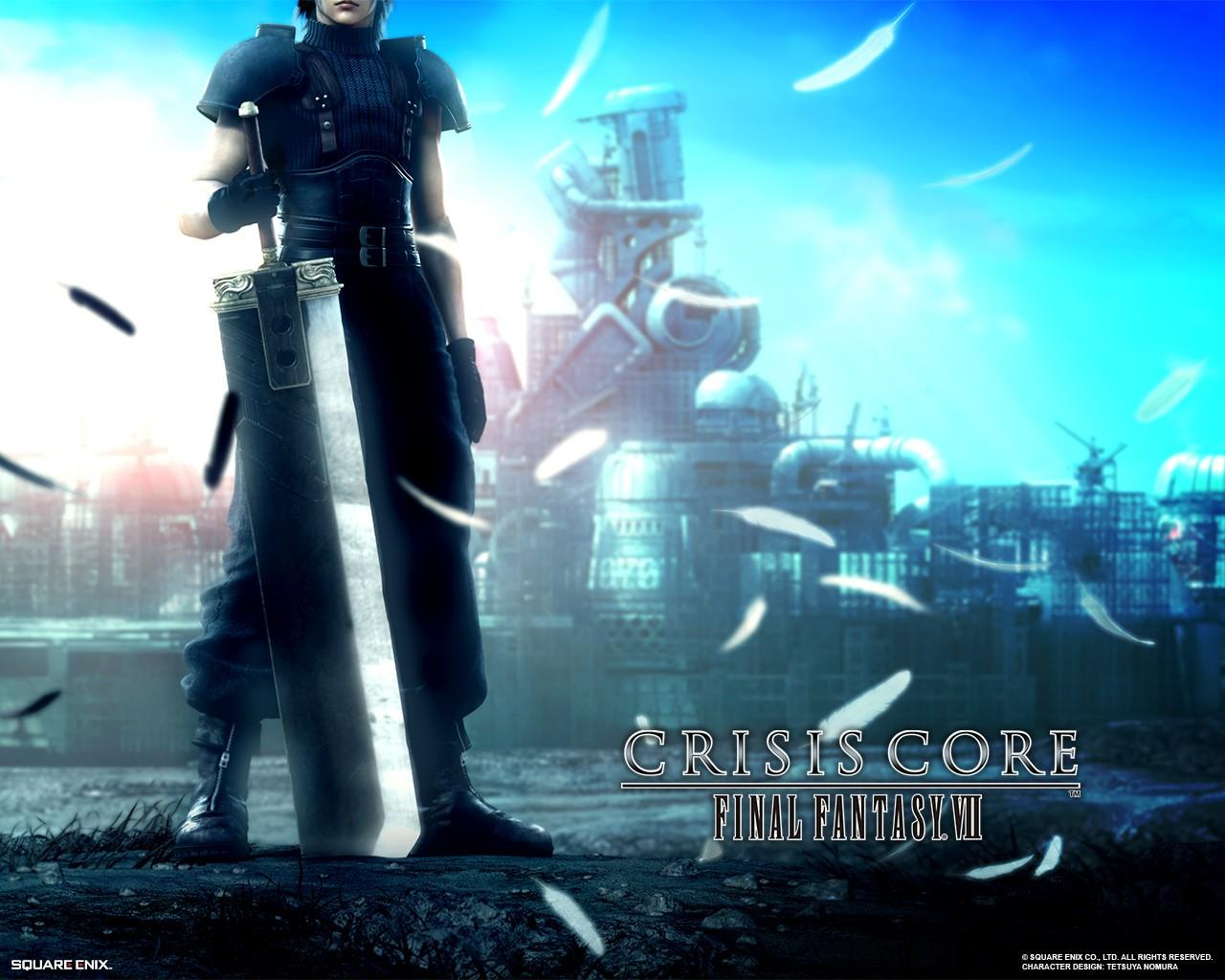 Обои Final Fantasy 7: Crisis Core 1280x1024
