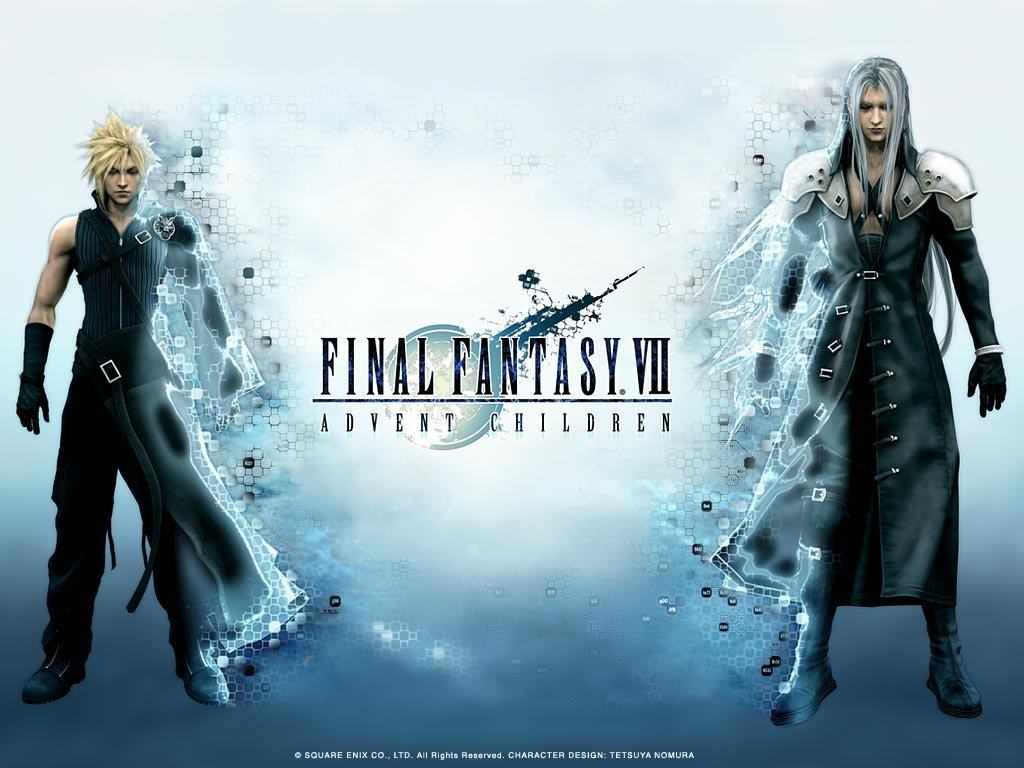 Обои Final Fantasy VII: Advent Children 1024x768