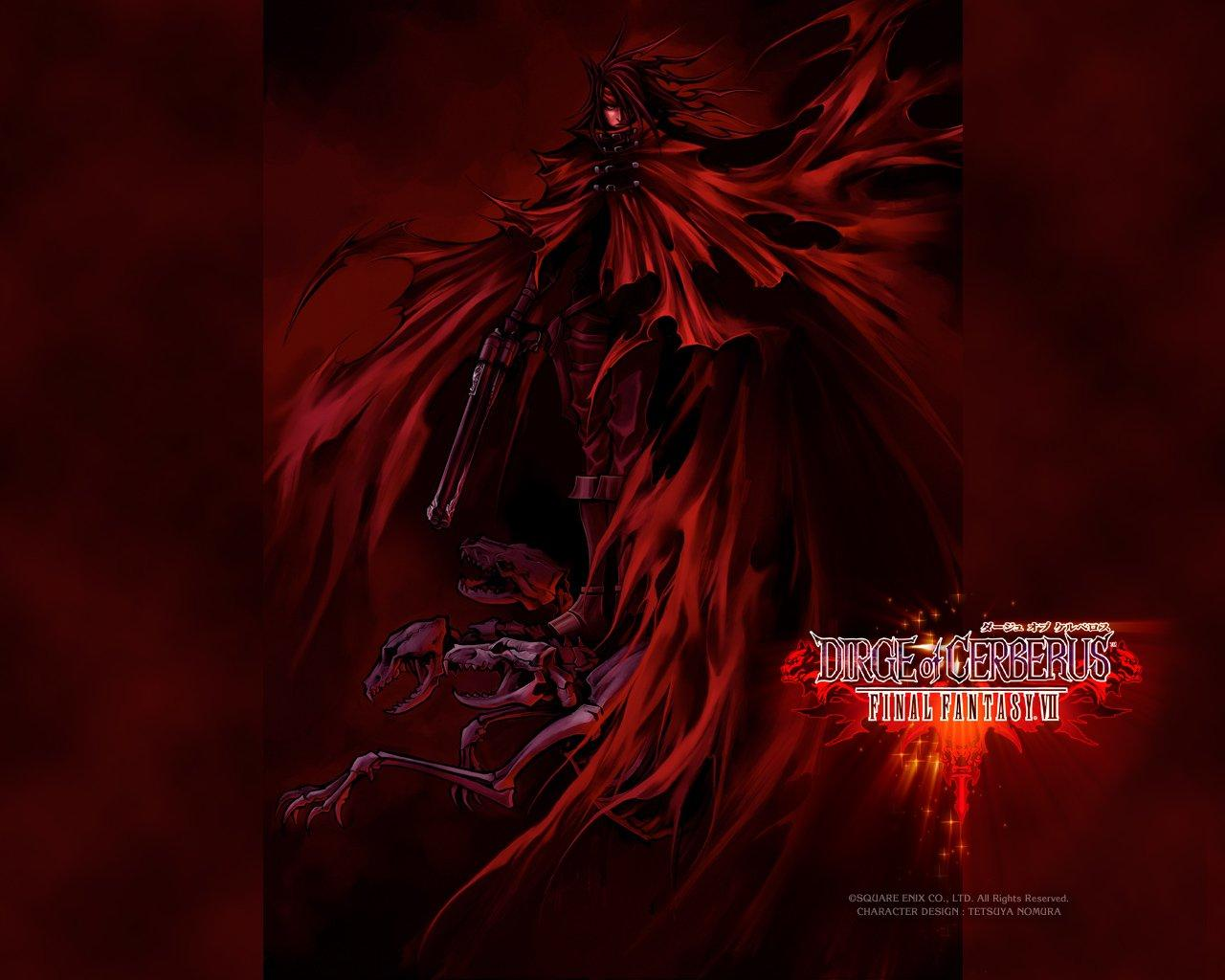 Обои Final Fantasy VII: Dirge of Cerberus 1280x1024