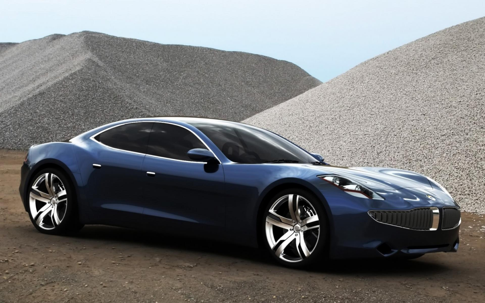 Обои Fisker Four Door 1920x1200