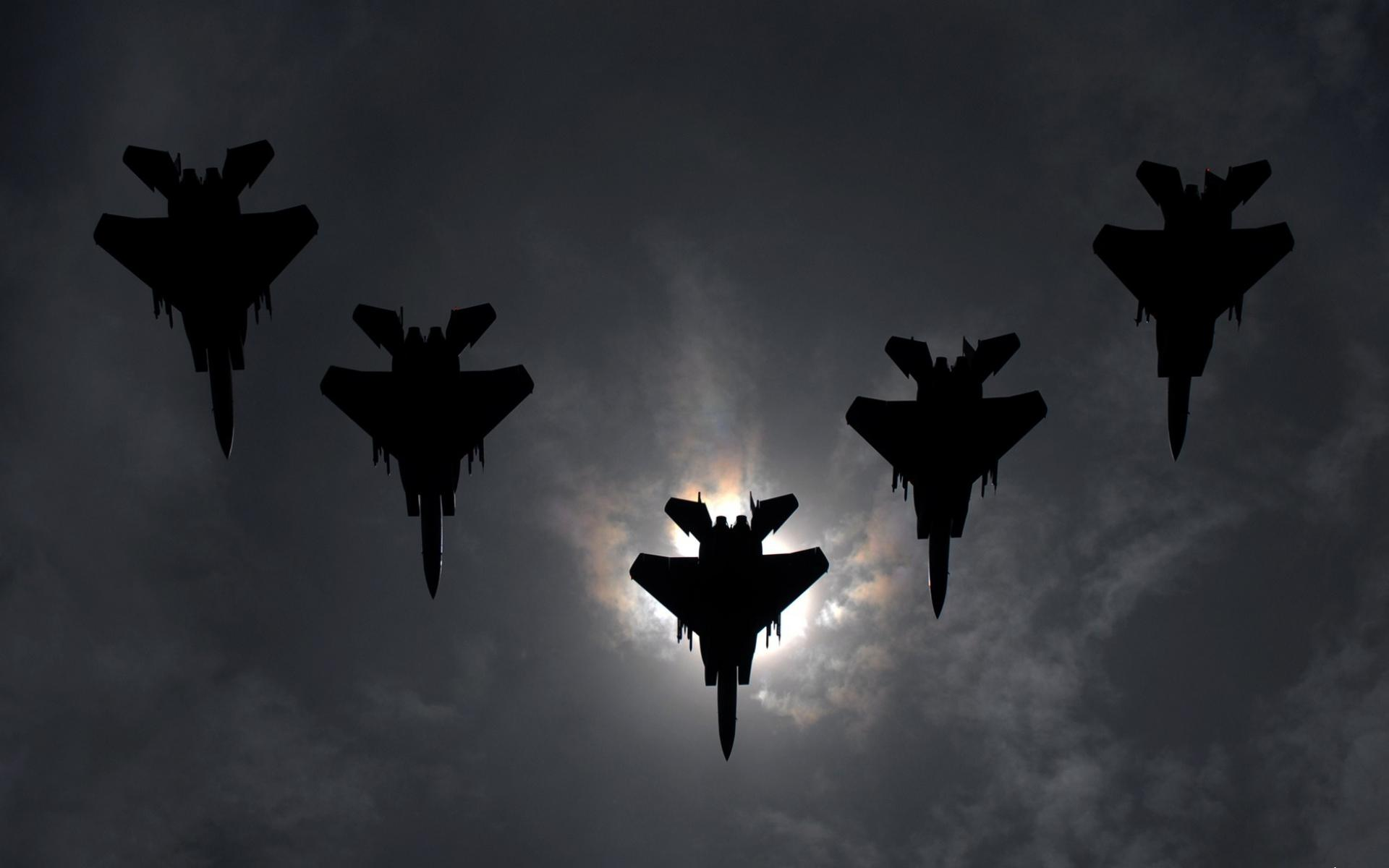 Обои Flight Formation 1920x1200