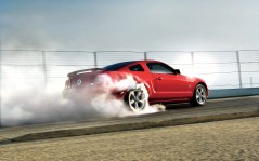 Ford Mustang ������� �� ����� / 1920x1200