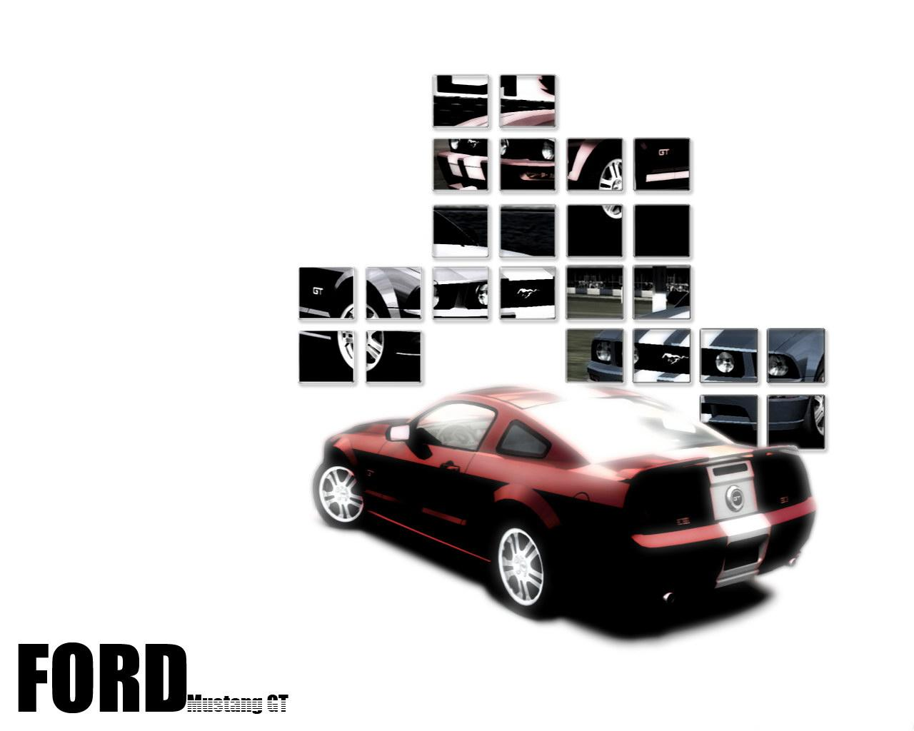 Обои Ford Mustang GT 1280x1024