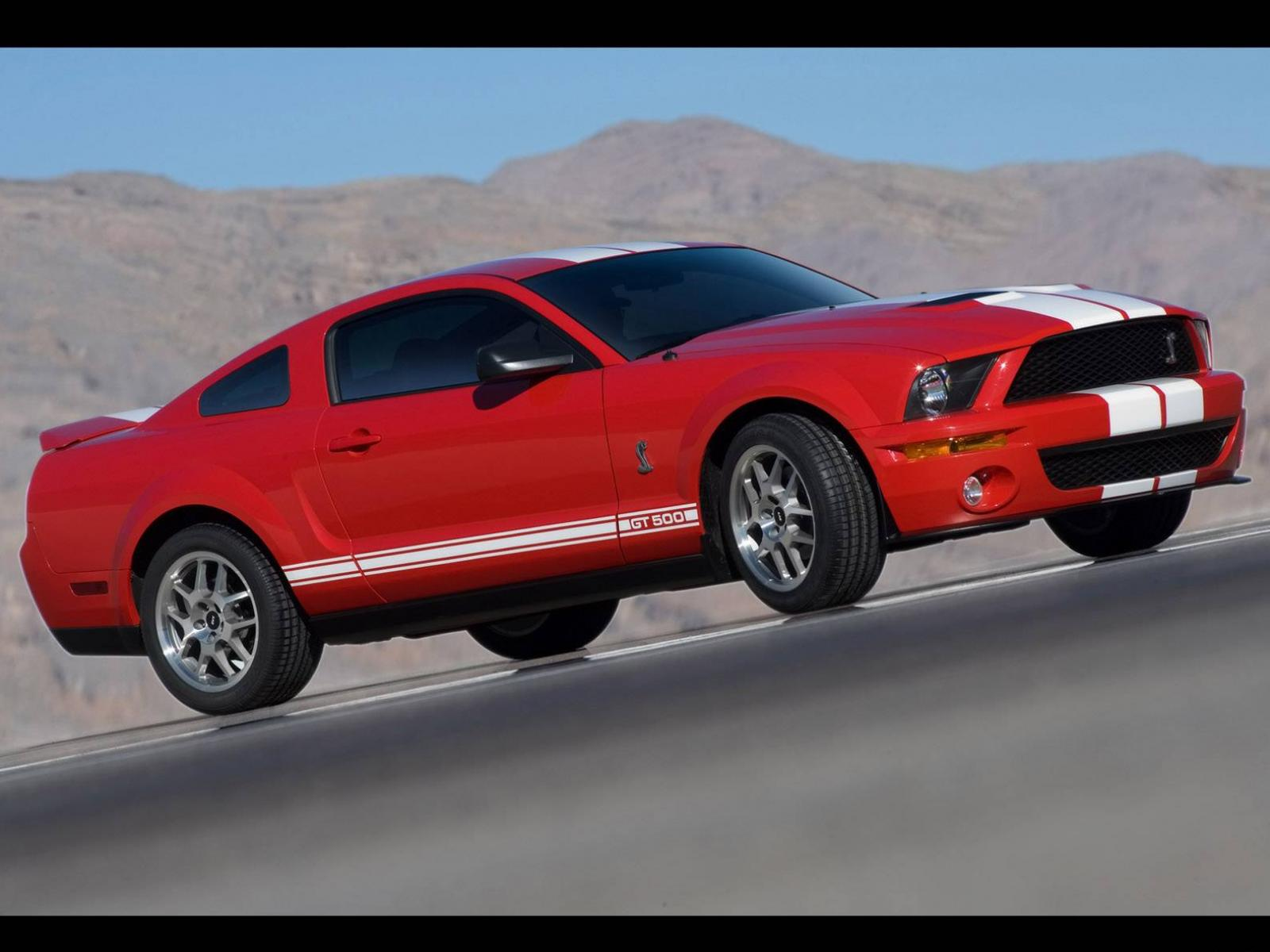 Обои Ford Mustang Shelby GT 500 1600x1200