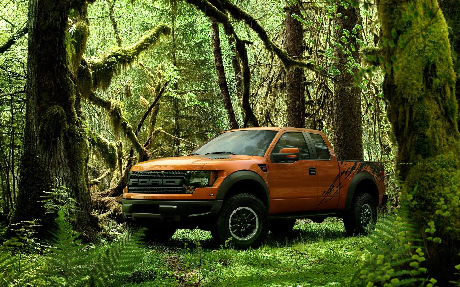 Обои Форд Раптор, Ford SVT Raptor 1920x1200
