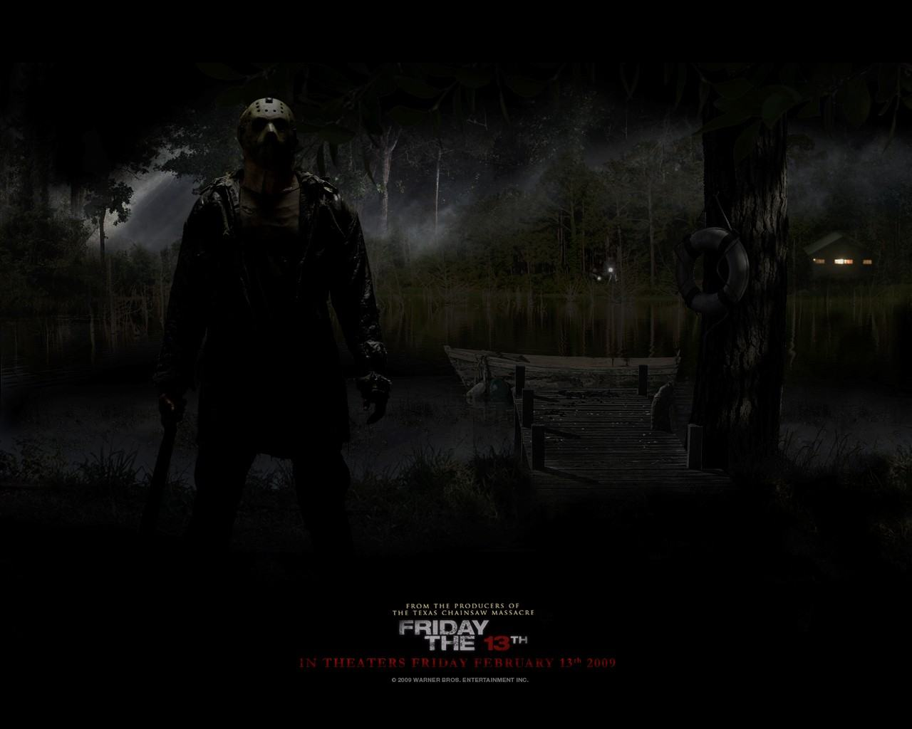 Обои Friday the 13th 1280x1024