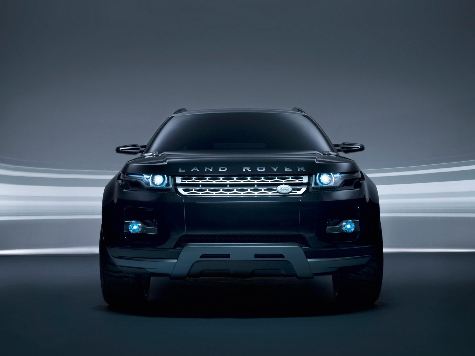 Обои Front Land Rover 1920x1440