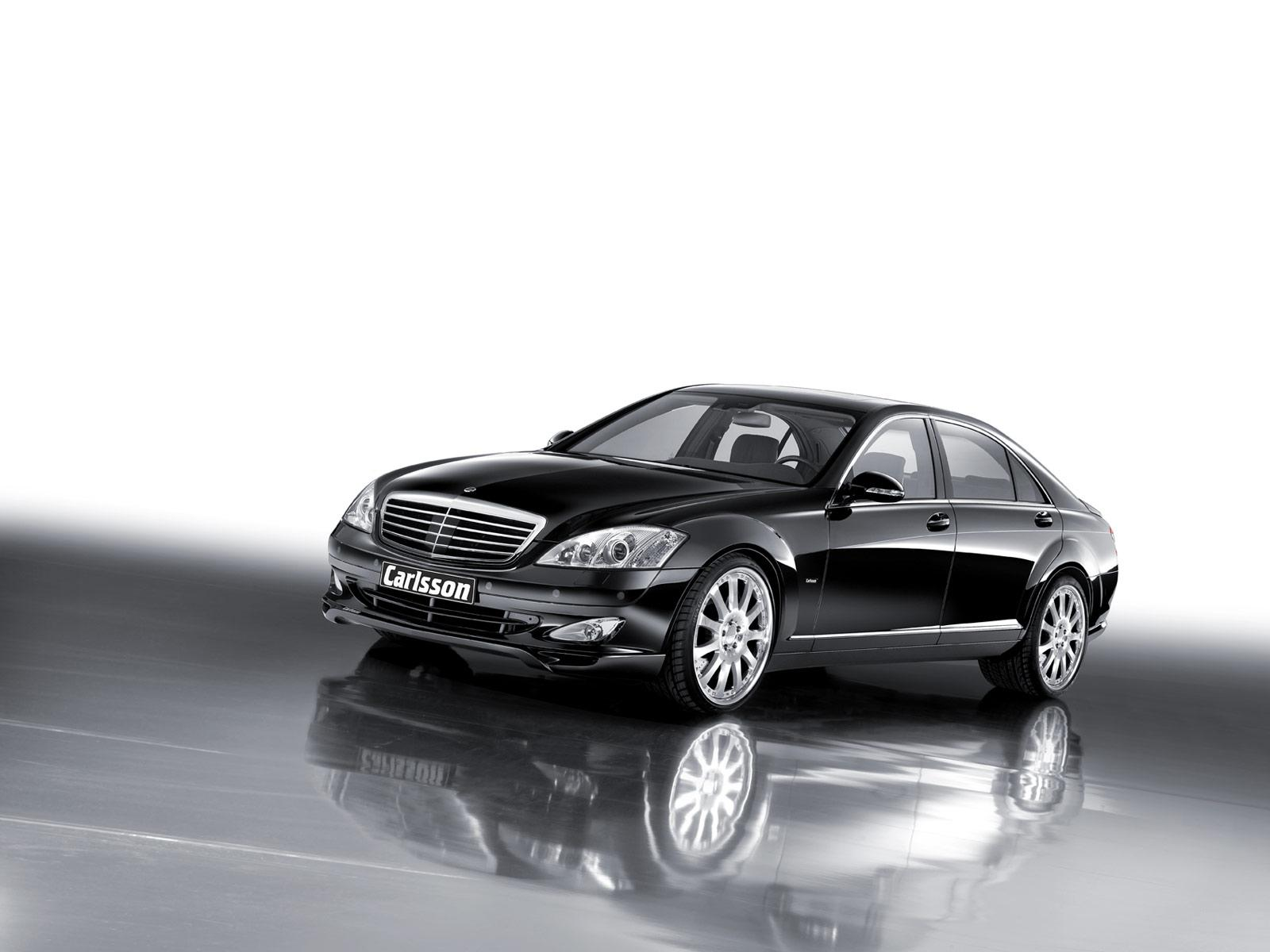 Обои Front Mercedes-Benz S500 Carlsson 1600x1200