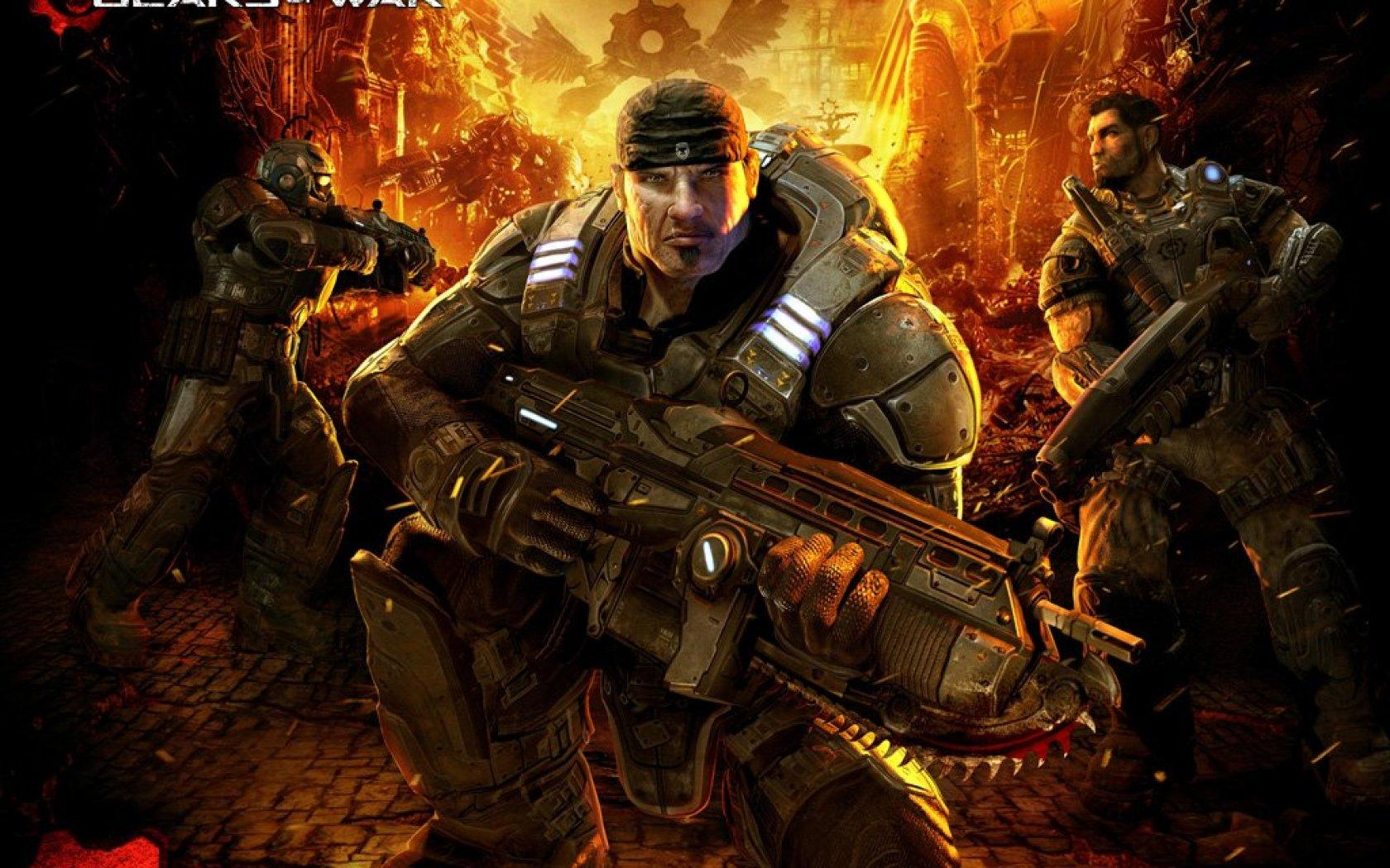 Обои Gears of War 1 1680x1050