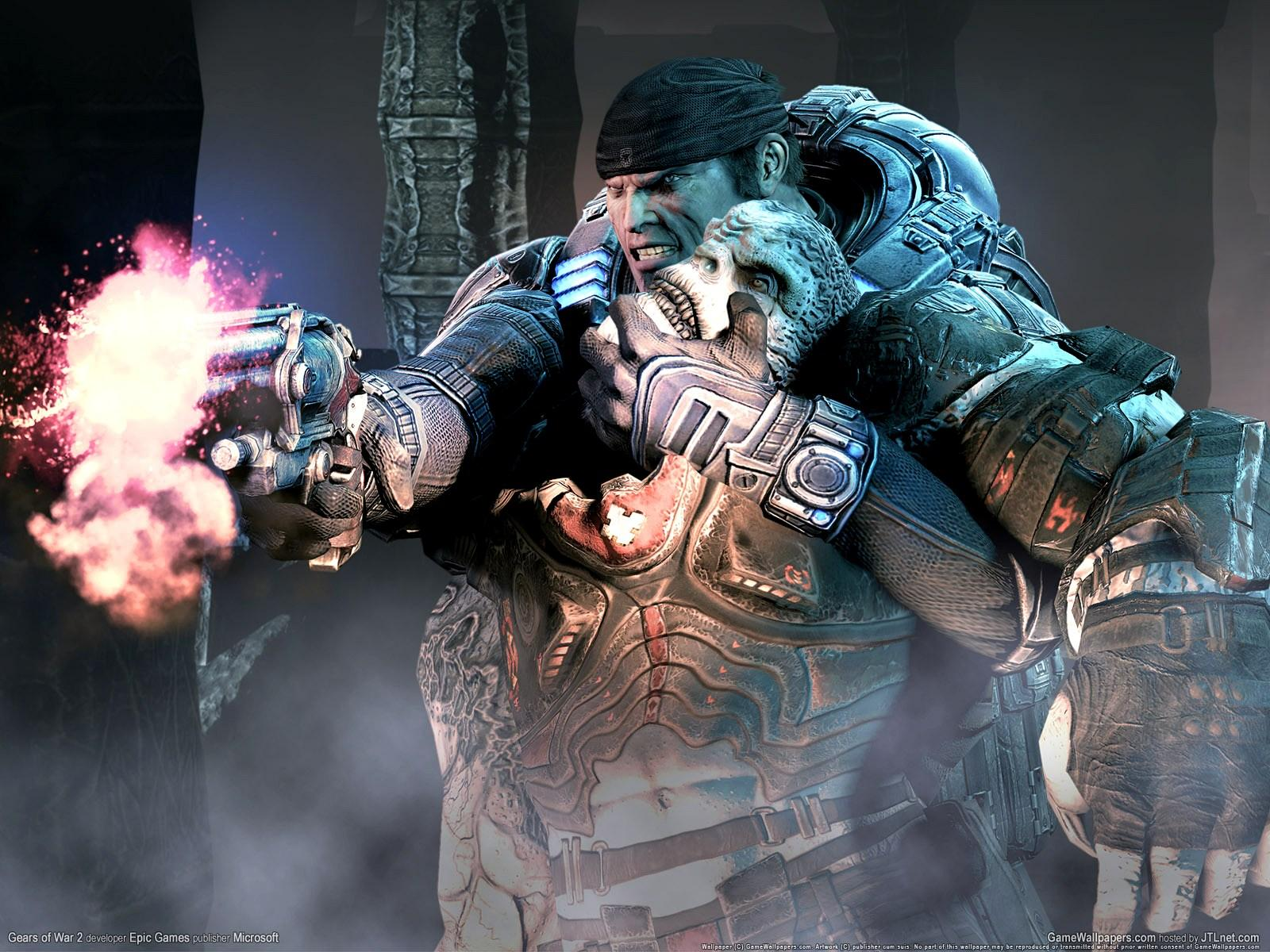Обои Gears of War 2 1600x1200