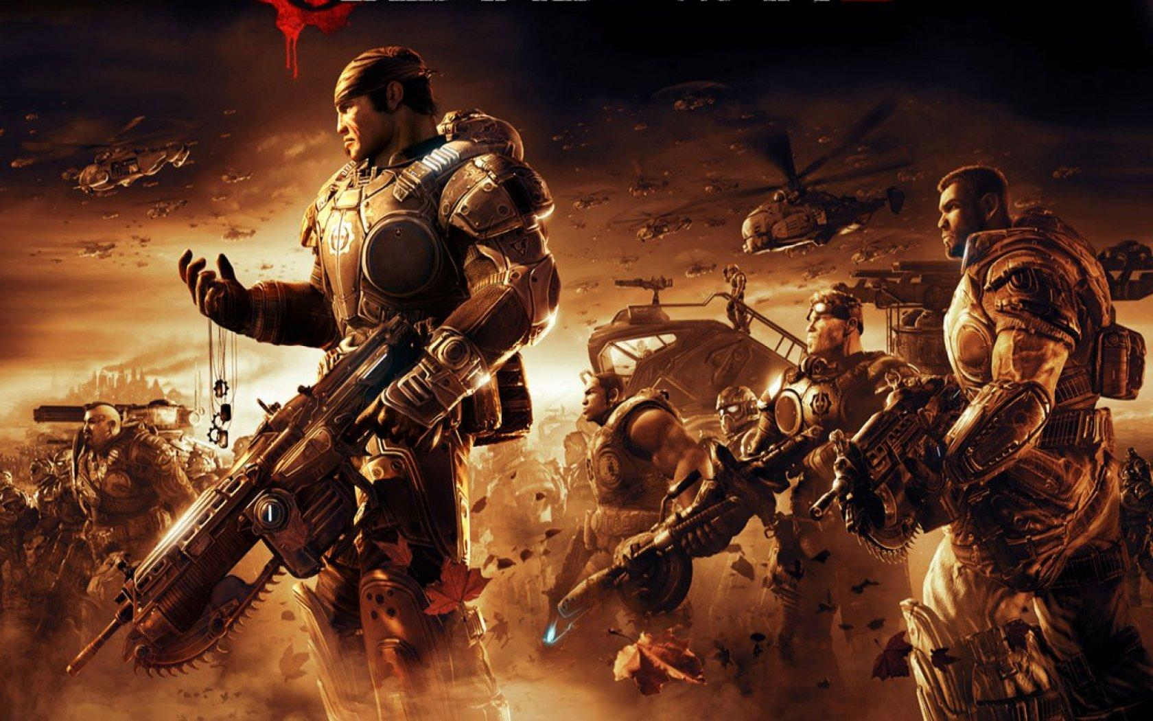 Обои Gears of War 2-5 1680x1050