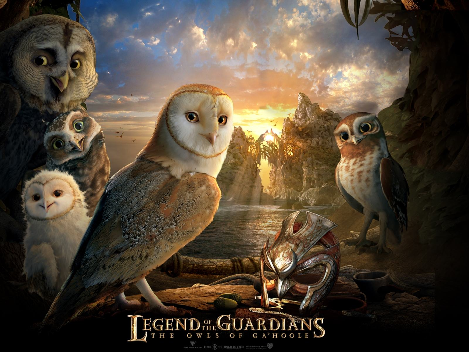 Обои Герои Legend of the Guardians 1600x1200
