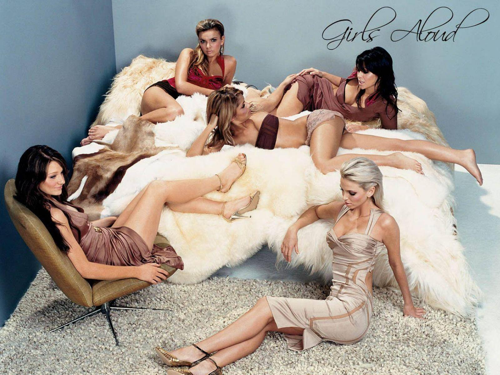 Обои Girls Aloud 1600x1200