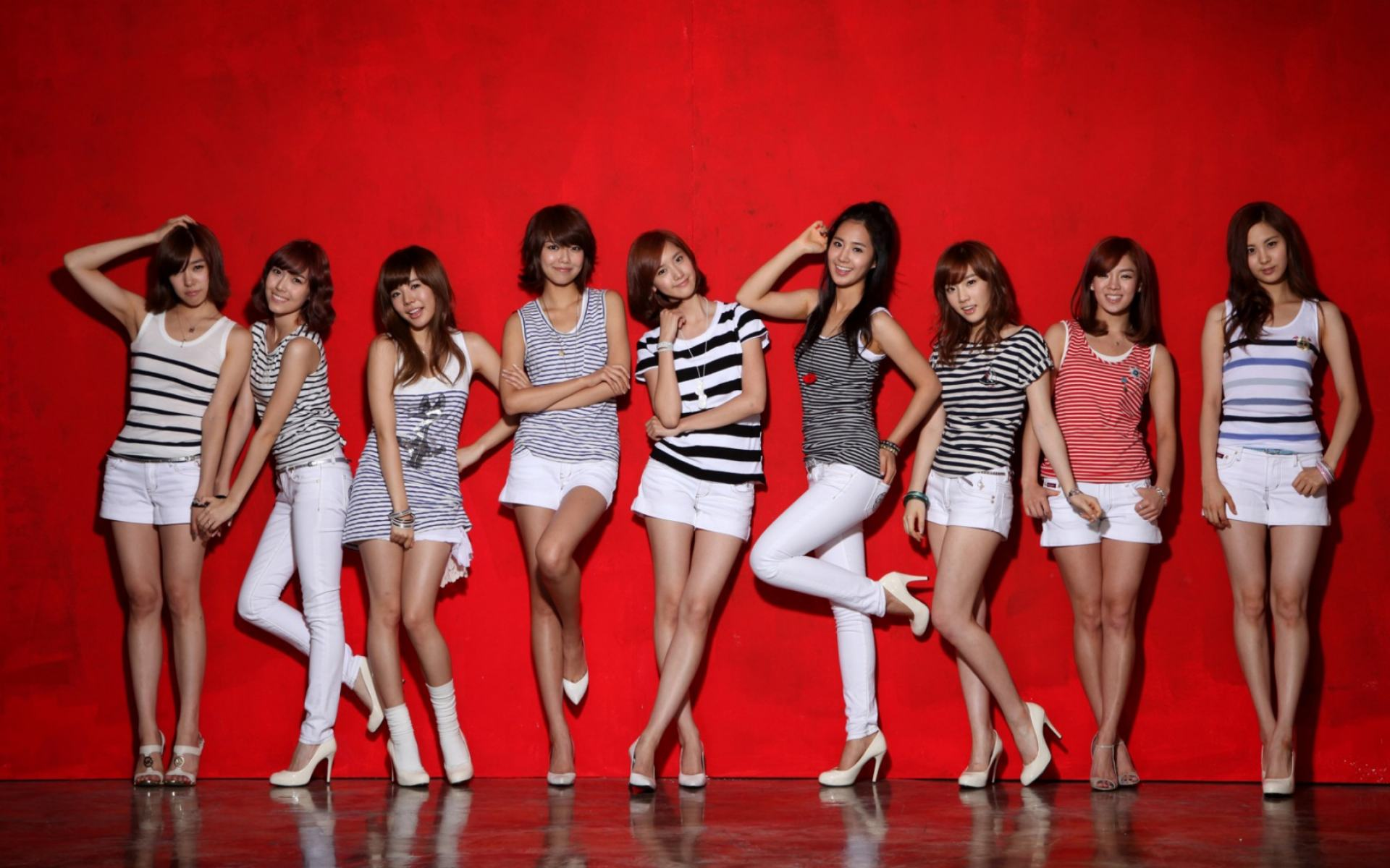 Обои Girls Generation 1920x1200