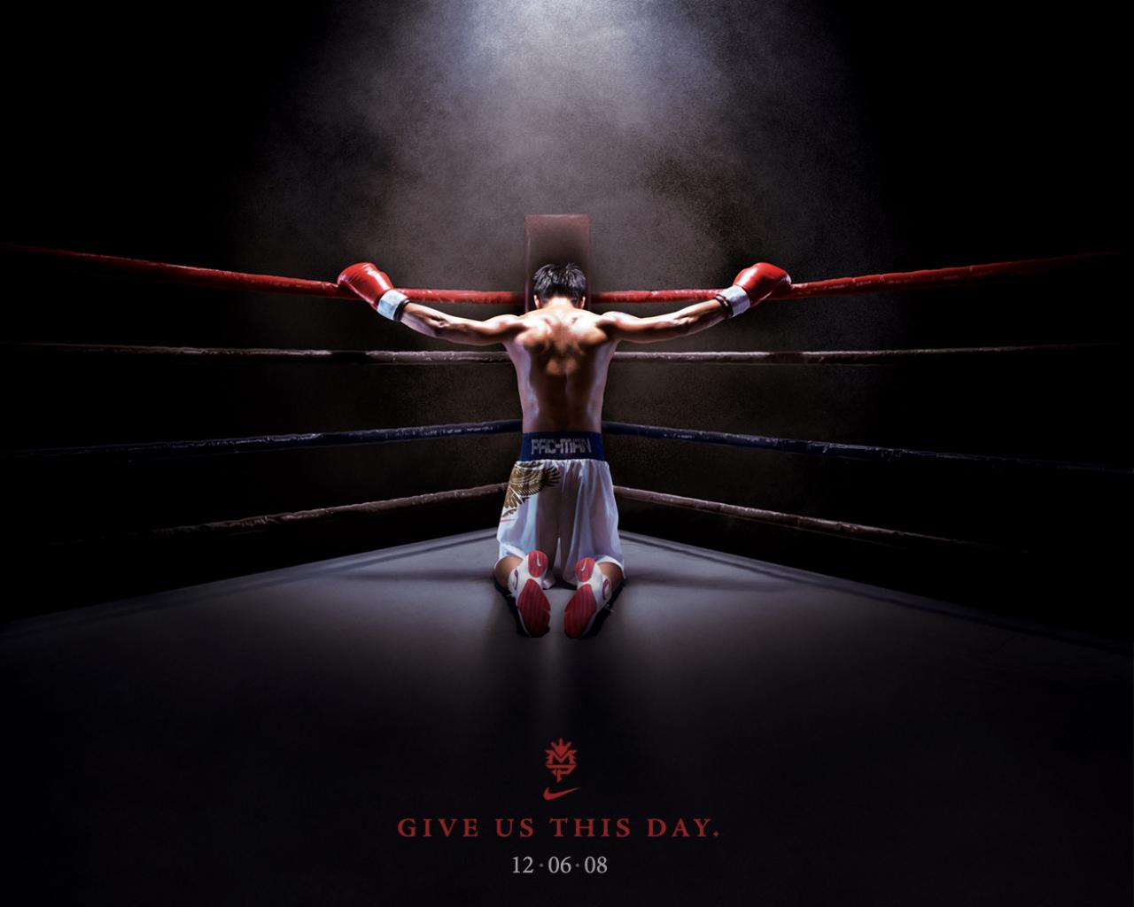Обои Give us this day boxing 1280x1024
