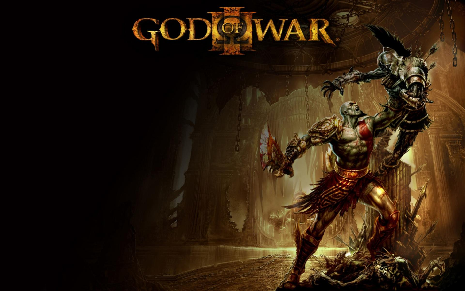 Обои God Of War 3 1920x1200