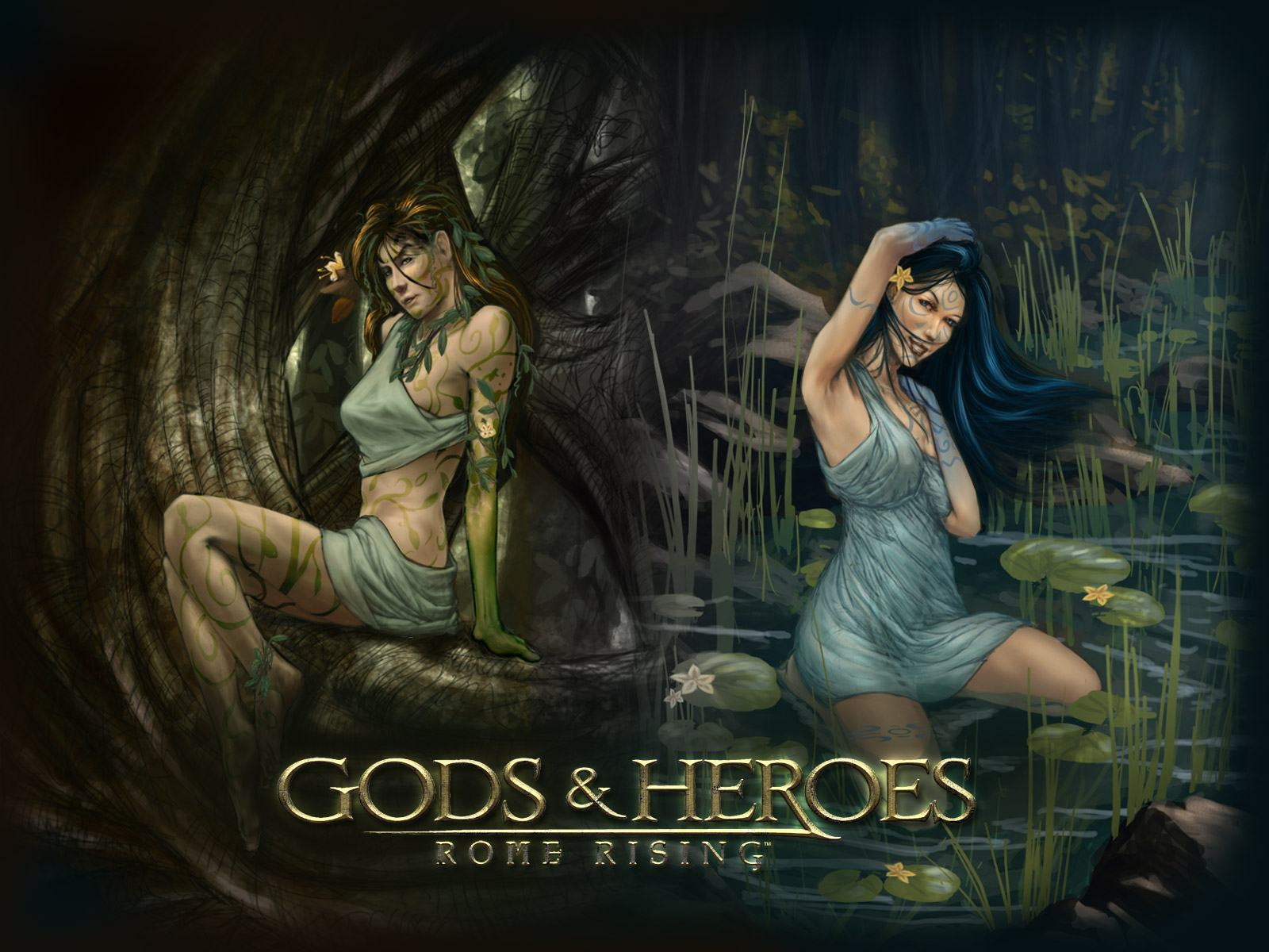 Обои Gods and Heroes: Rome Rising 1600x1200