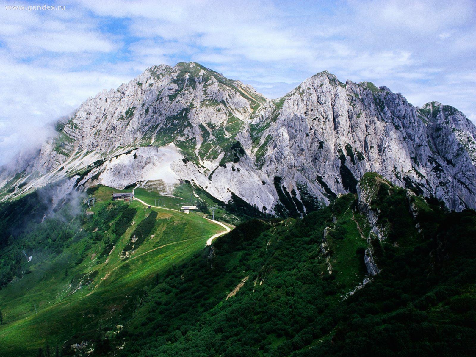 Обои горы альпы в италии для рабочего