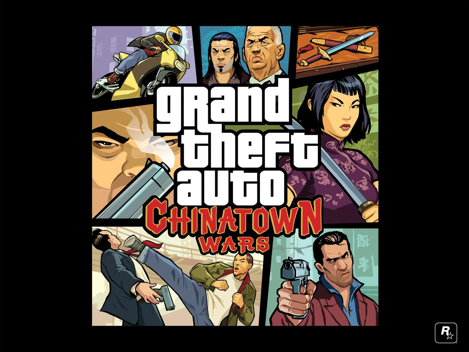 Обои Grand Theft Auto: Chinatown Wars 1600x1200